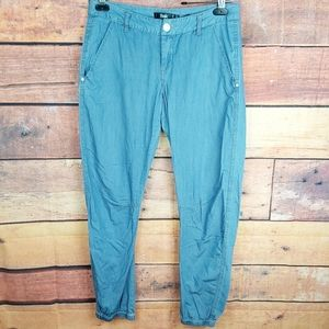 Chambray light comfy joggers size 28